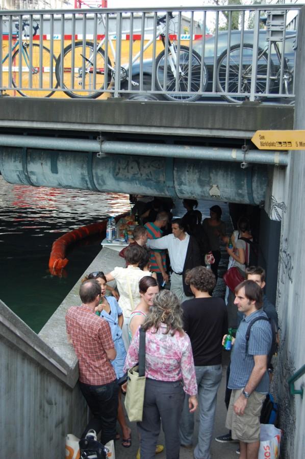 Videotank - Zürich - Eröffnung - 2.7.09